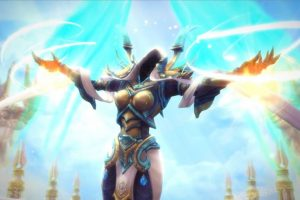 Heroes of the Storm: Auriel trailer