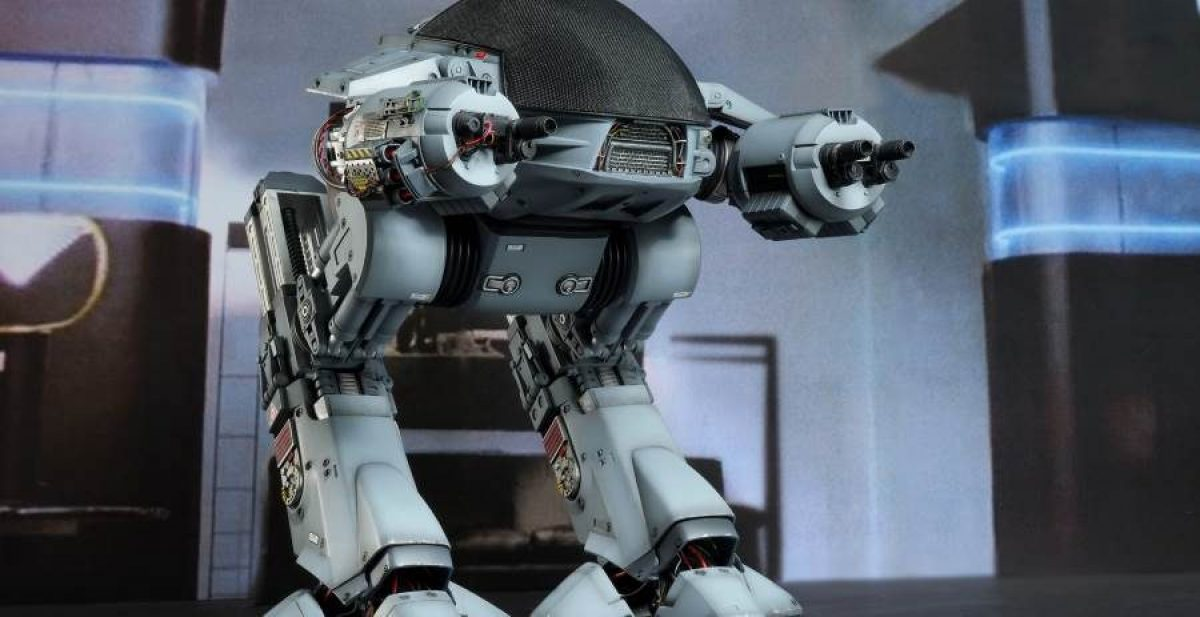 ED-209 from Robocop as a 14 inch statue