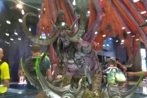 In Production: Illidan Stormrage statue