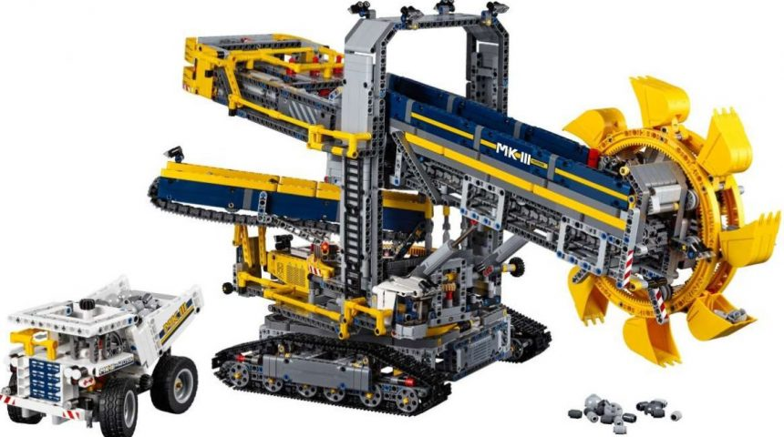 Lego Bucket Wheel Excavator