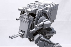 Fan creates a poseable Lego AT-ST