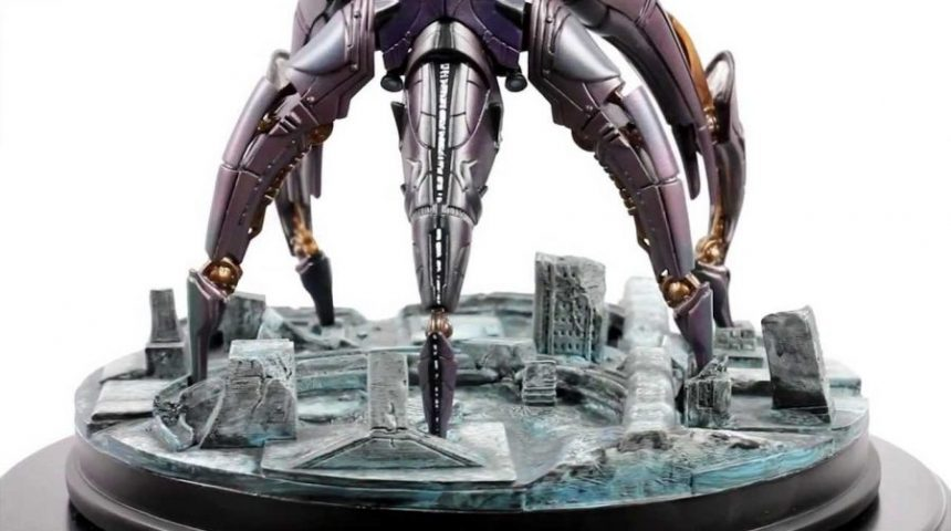I still miss my Mass Effect Reaper statue