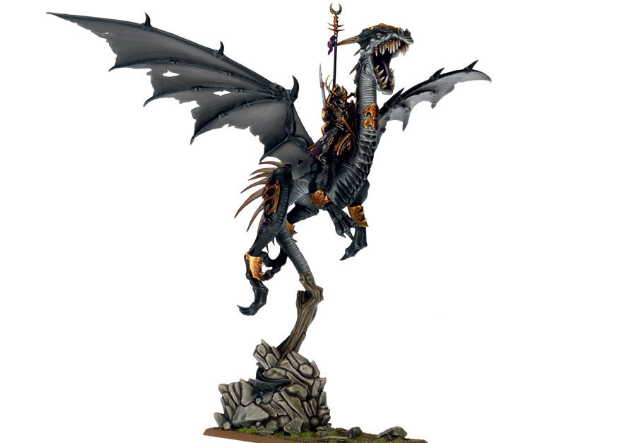 warhammer-dark-elf-dreadlord-black-dragon