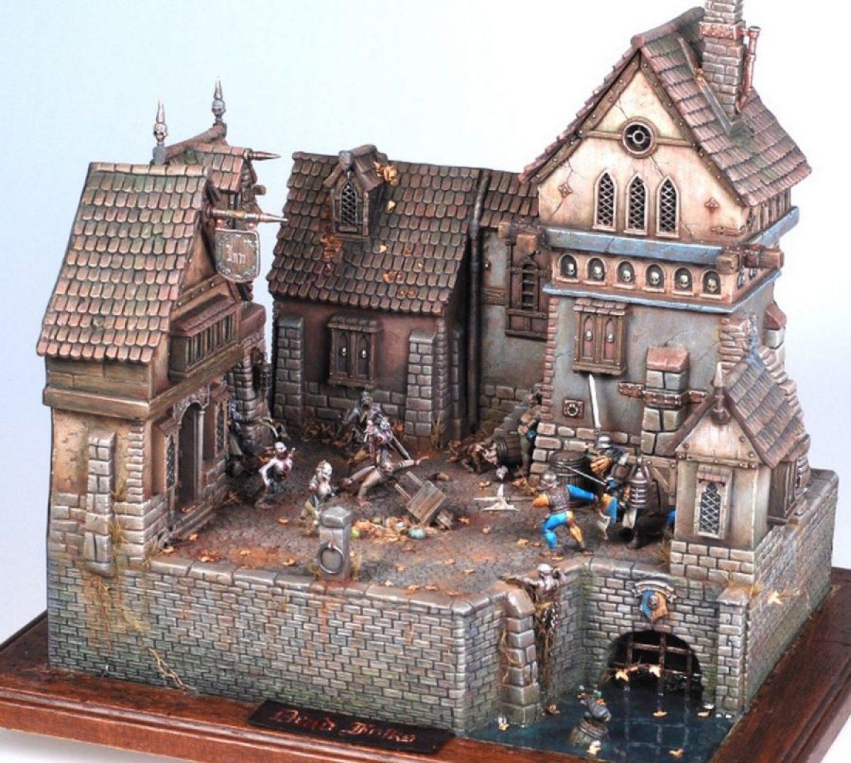 Some crazy cool Warhammer dioramas