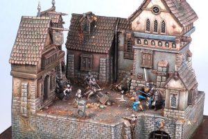 Some crazy cool Warhammer dioramas